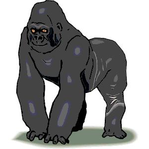 Gorilla svg #16, Download drawings