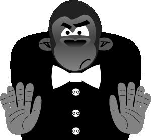 Gorilla svg #15, Download drawings