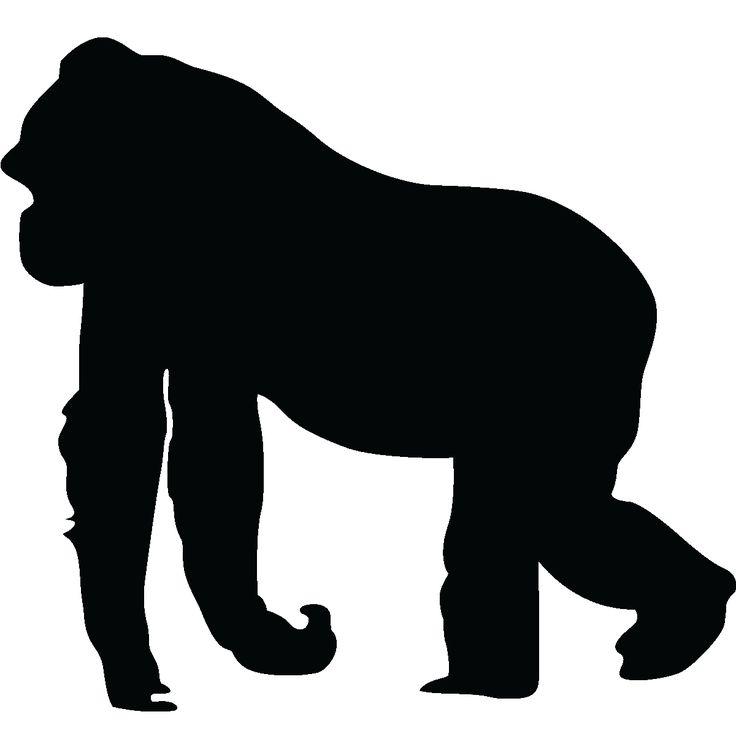 Gorilla svg #9, Download drawings