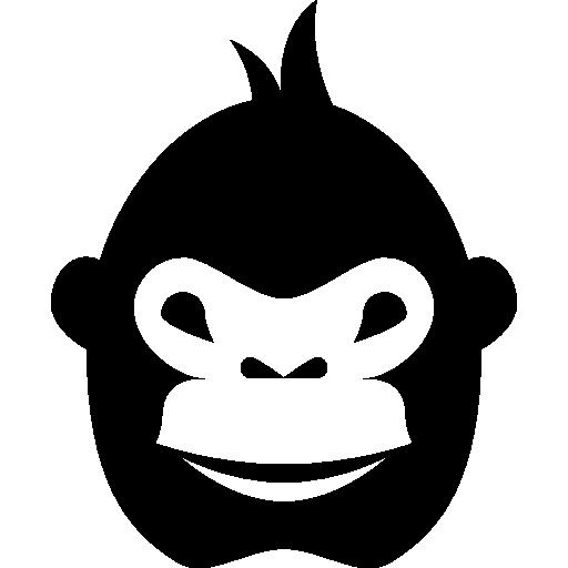 Gorilla svg #18, Download drawings