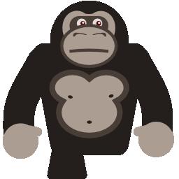 Gorilla svg #19, Download drawings