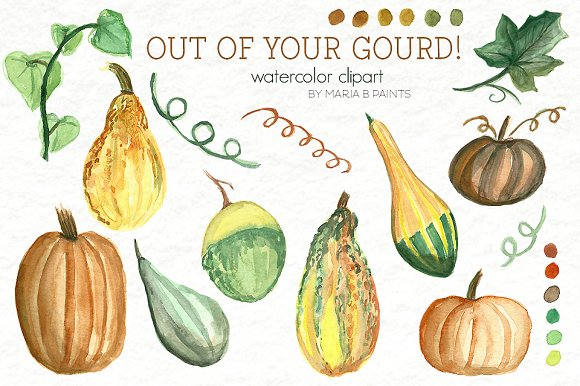Gourd clipart #2, Download drawings