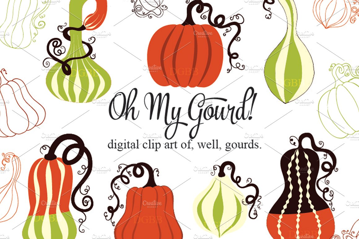 Gourd clipart #6, Download drawings