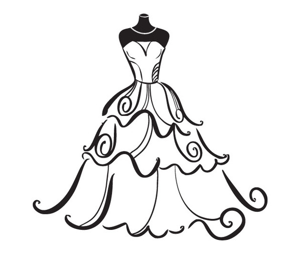 Gown clipart #20, Download drawings