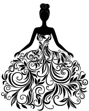 Gown clipart #19, Download drawings