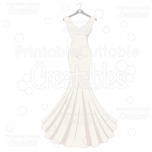 White Dress svg #9, Download drawings
