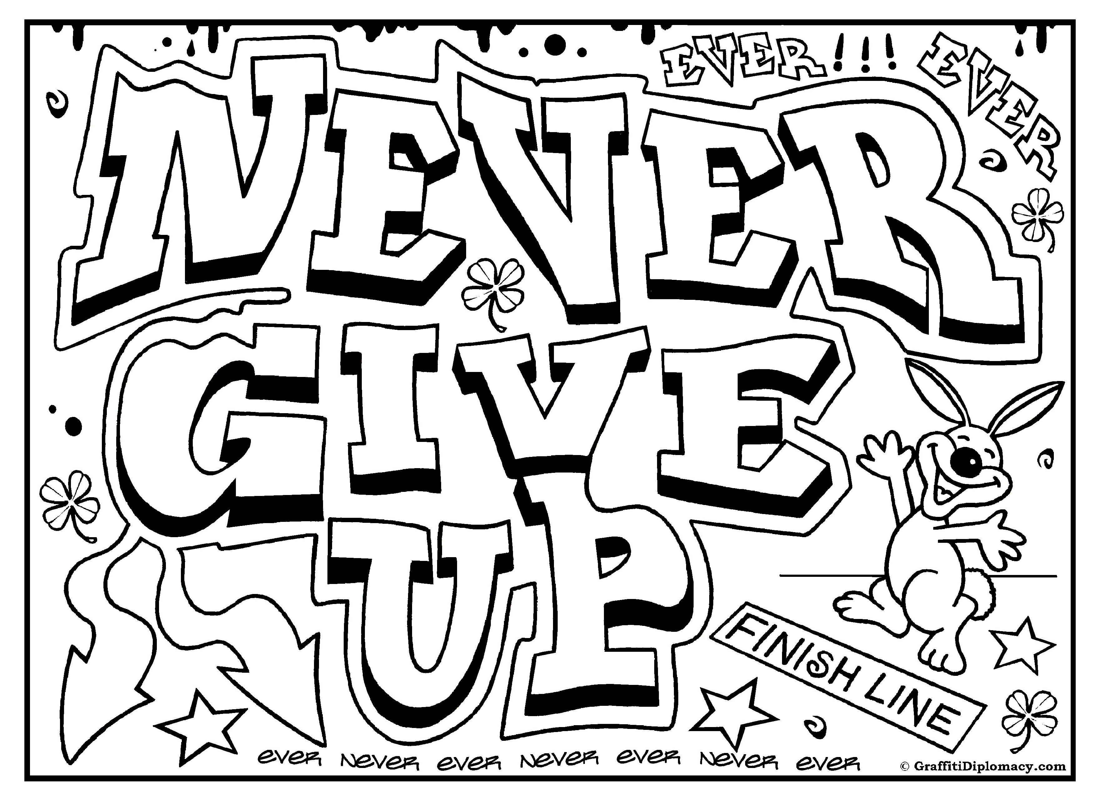 Graffiti coloring #13, Download drawings