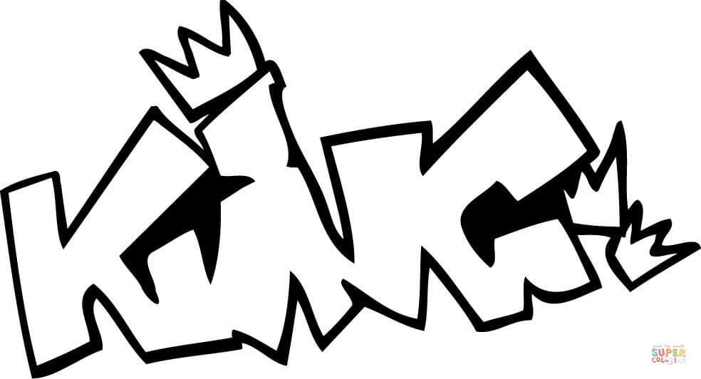 Graffiti coloring #7, Download drawings