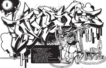 Graffiti coloring #9, Download drawings