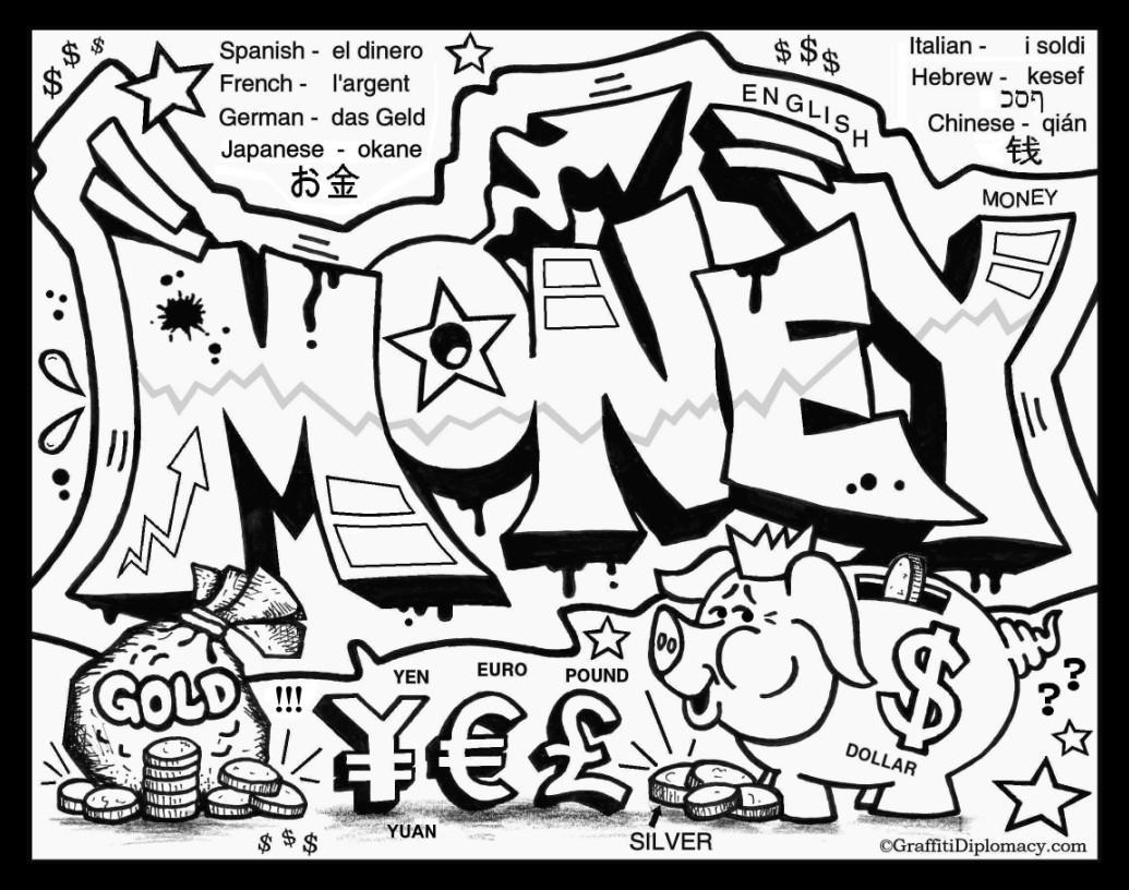 Graffiti coloring #14, Download drawings