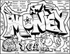Graffiti coloring #19, Download drawings