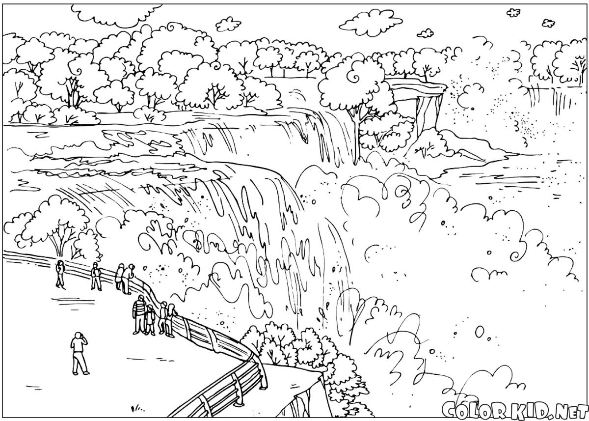 Grand Canyon coloring #1, Download drawings