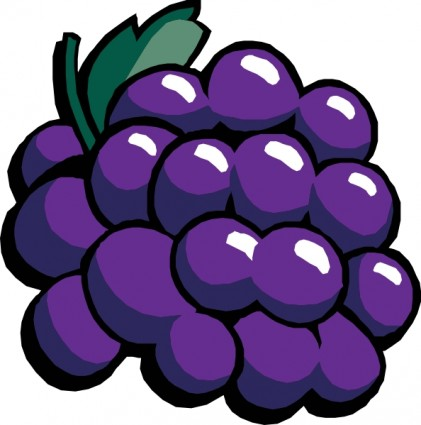 Grapes clipart #2, Download drawings