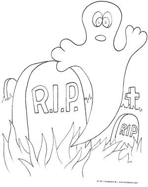 Graveyard coloring #2, Download drawings