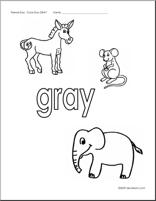 Gray coloring #20, Download drawings
