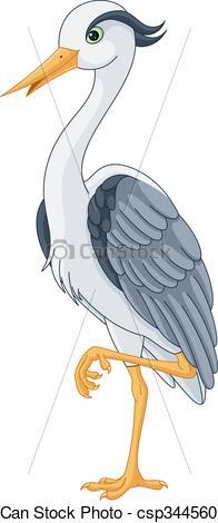 Gray Heron clipart #10, Download drawings