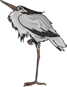 Gray Heron clipart #14, Download drawings