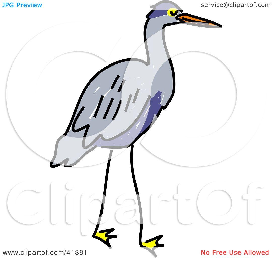 Gray Heron clipart #9, Download drawings
