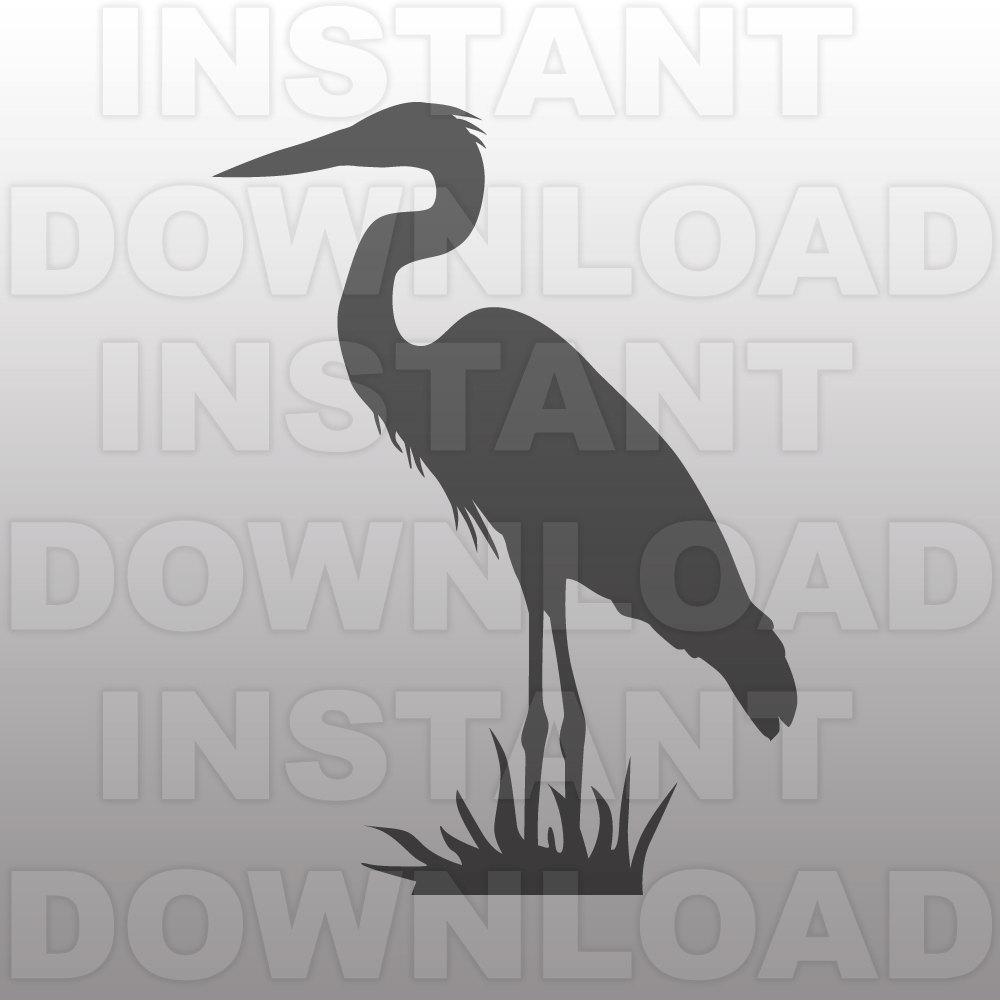 Gray Heron svg #18, Download drawings