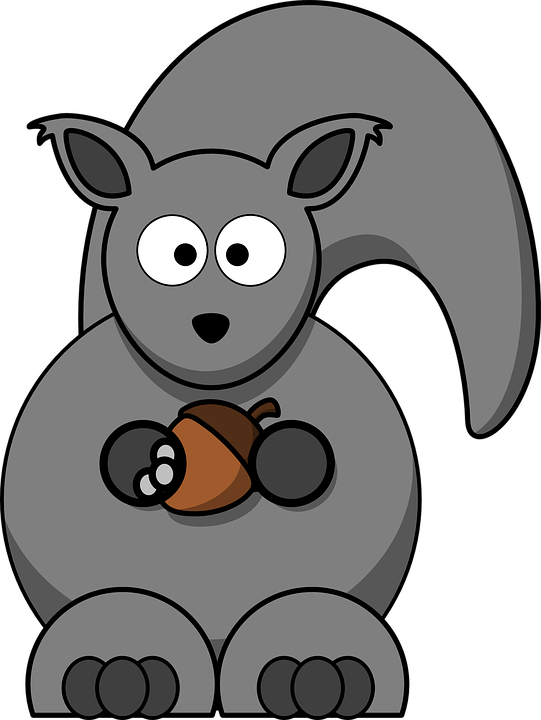 Gray Squirrel svg #13, Download drawings