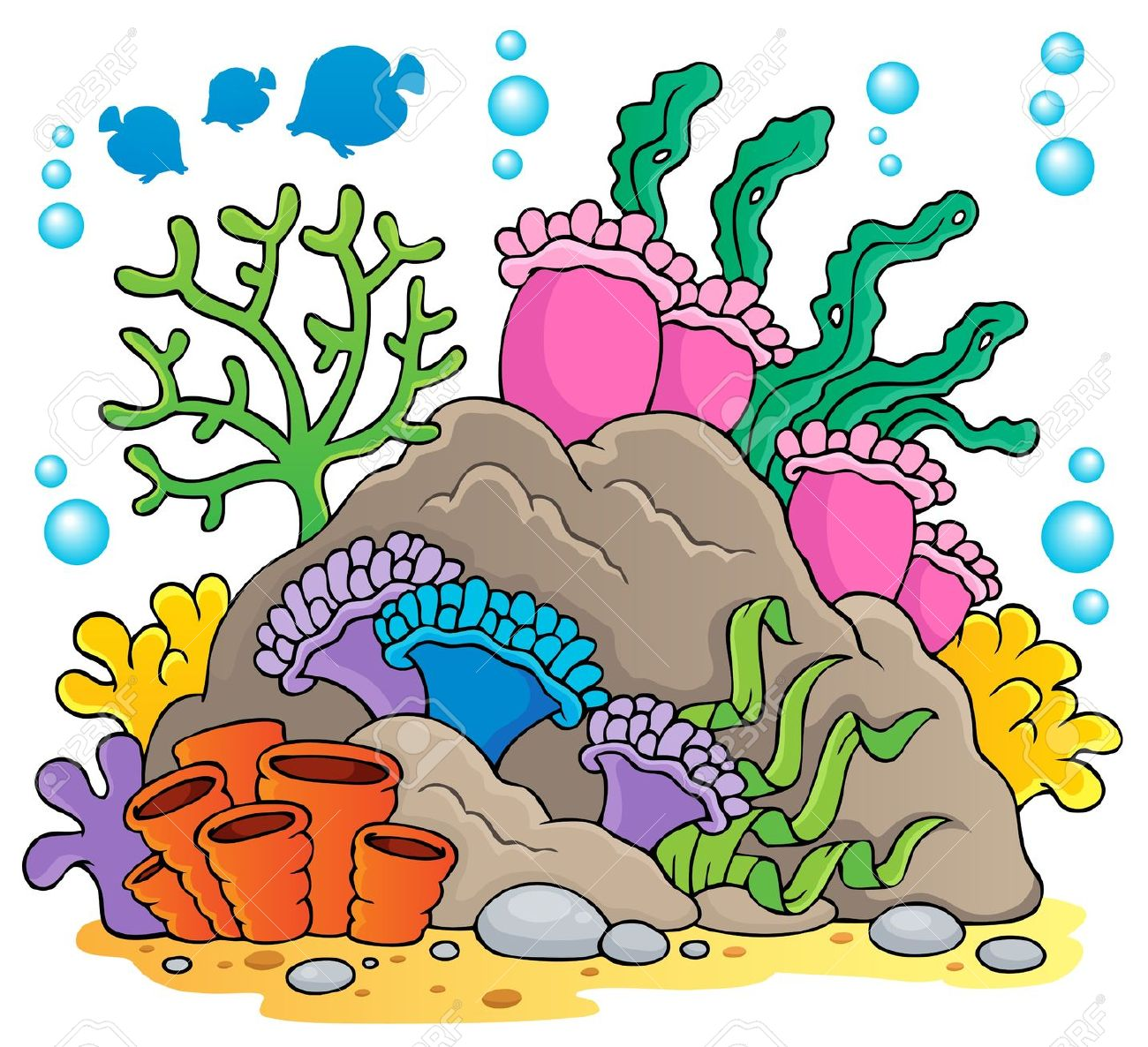 Great Barrier Reef clipart #1, Download drawings