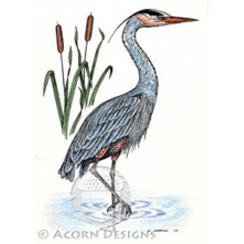 Great Blue Heron coloring #4, Download drawings