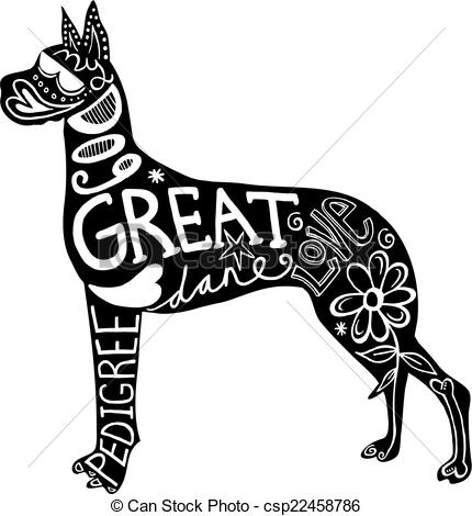 Great Dane clipart #3, Download drawings