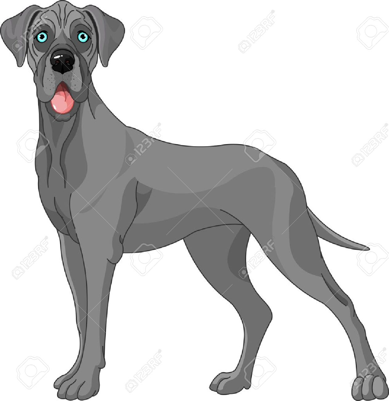 Great Dane clipart #10, Download drawings