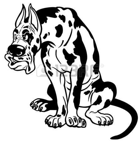 Great Dane clipart #9, Download drawings