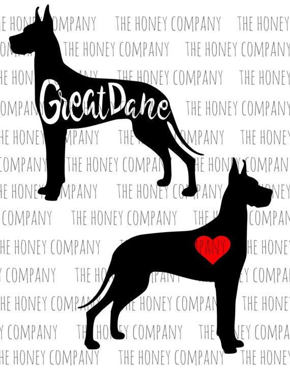 Great Dane svg #6, Download drawings