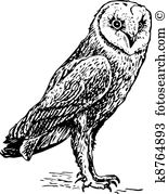 Great Gray Owl clipart #10, Download drawings