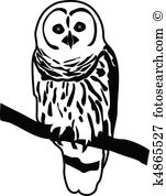 Great Gray Owl clipart #9, Download drawings