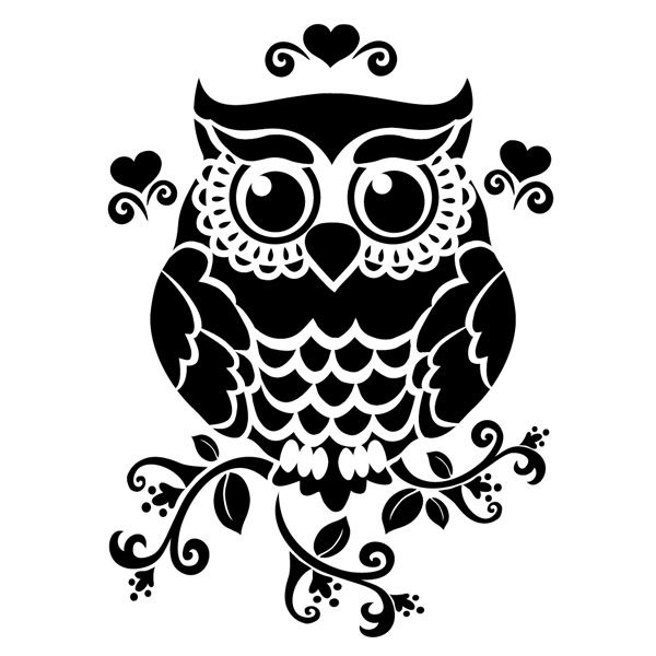 Great Gray Owl svg #14, Download drawings
