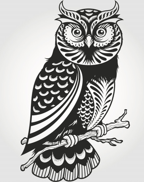 Great Horned Owl svg #18, Download drawings