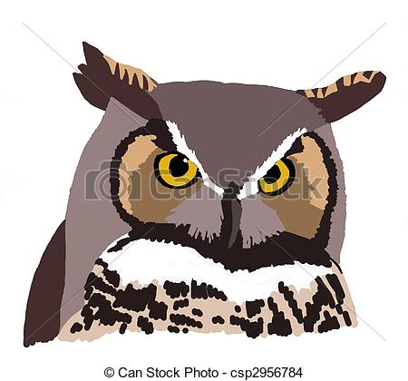 Horned Owl clipart #18, Download drawings