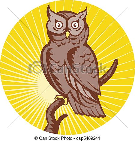 Horned Owl clipart #20, Download drawings