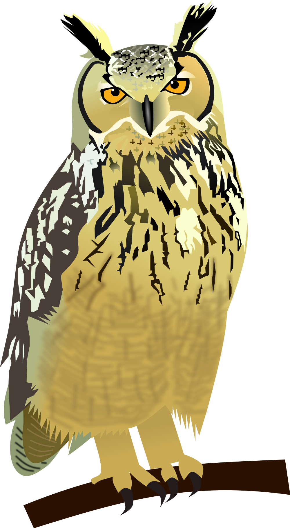 Great Horned Owl svg #9, Download drawings