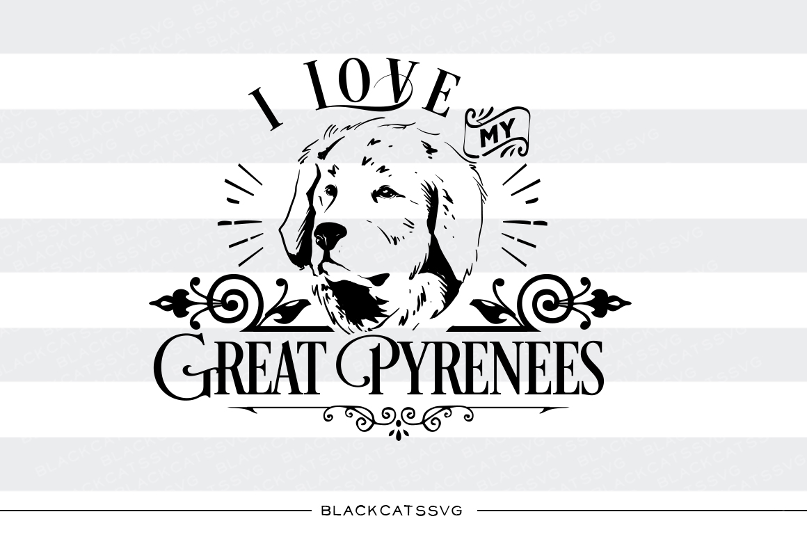 Great Pyrenees svg #11, Download drawings