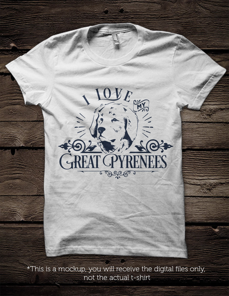 Great Pyrenees svg #3, Download drawings