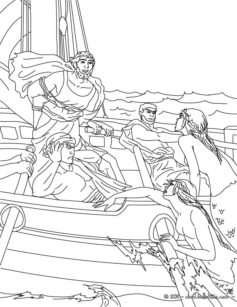 Perseus coloring #2, Download drawings