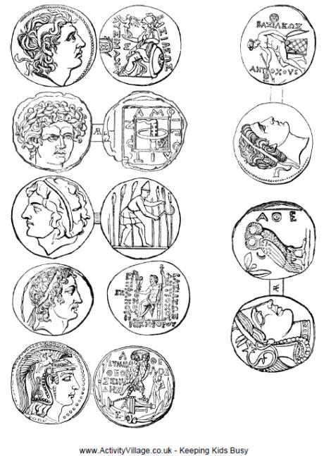 Greek coloring #3, Download drawings