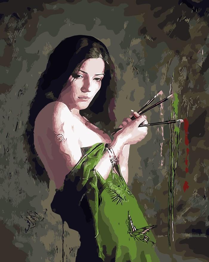 Green Dress coloring #5, Download drawings