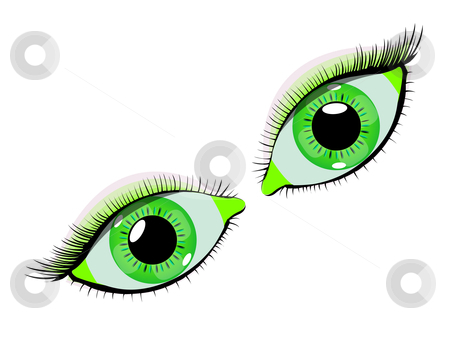 Green Eyes clipart #4, Download drawings