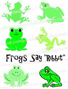 Green Frog svg #14, Download drawings