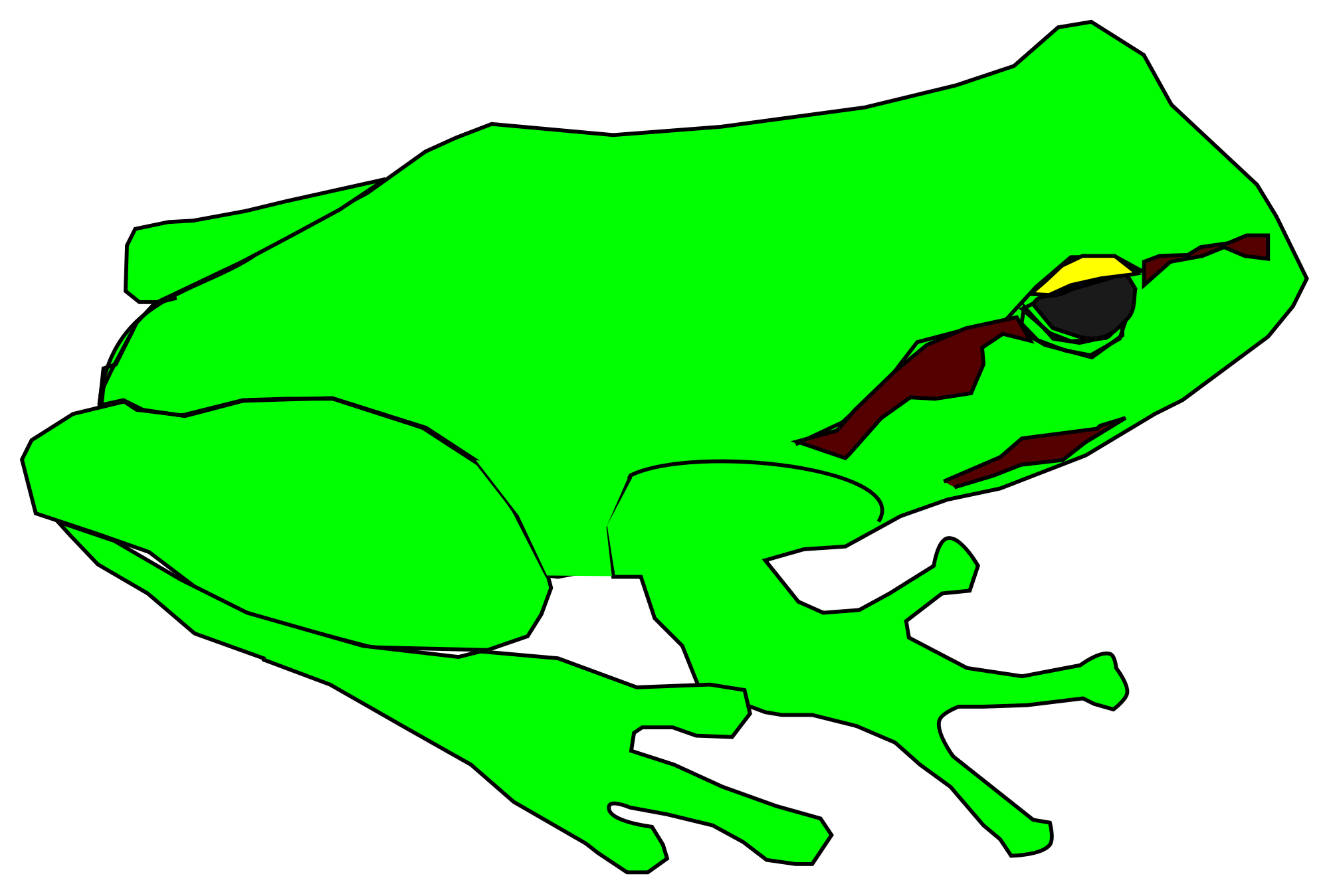 Green Frog svg #11, Download drawings
