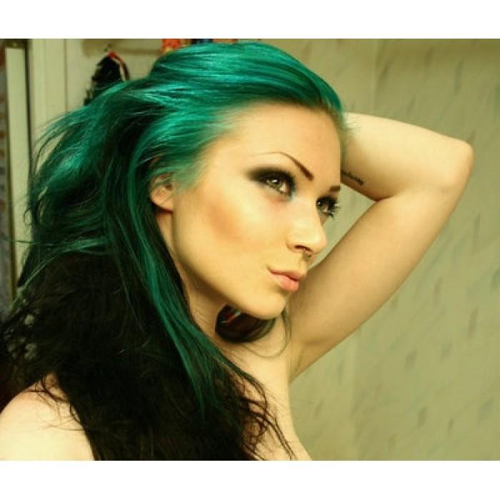 Green Hair coloring #9, Download drawings