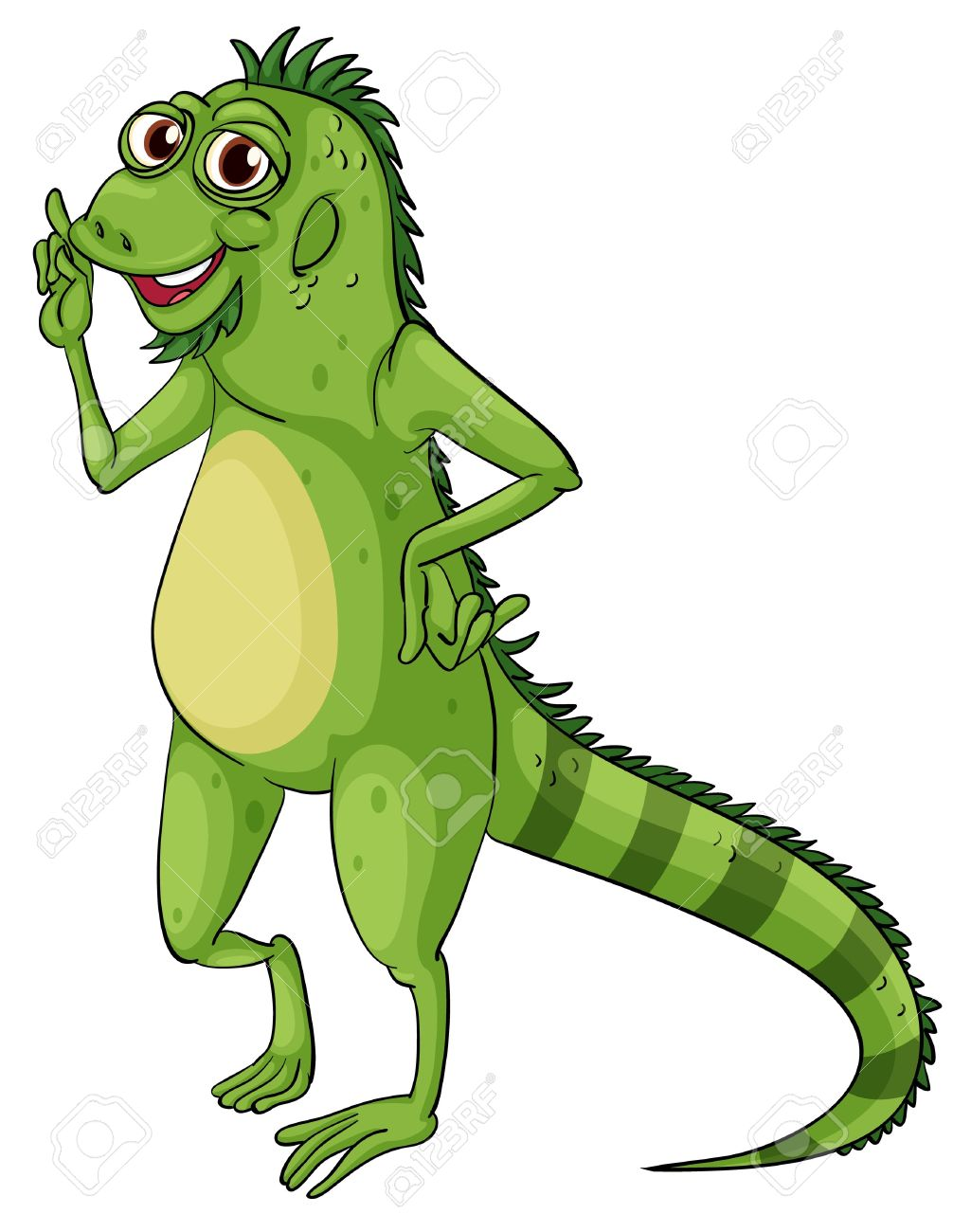 Green Iguana clipart #7, Download drawings