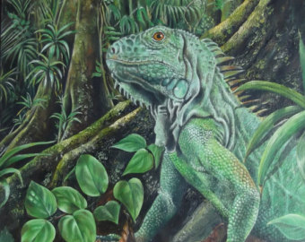 Green Iguana svg #4, Download drawings