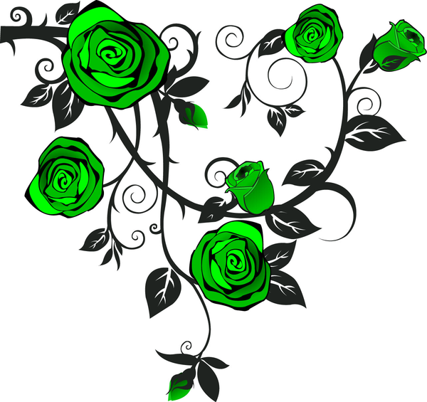 Green Rose clipart #18, Download drawings