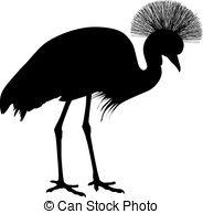 Grey Crowned Crane clipart #12, Download drawings